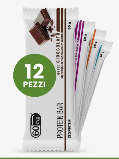 Protein Bar 12 pezzi