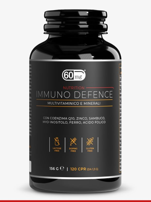 Immuno Defence multivitaminico e minerali 60mg
