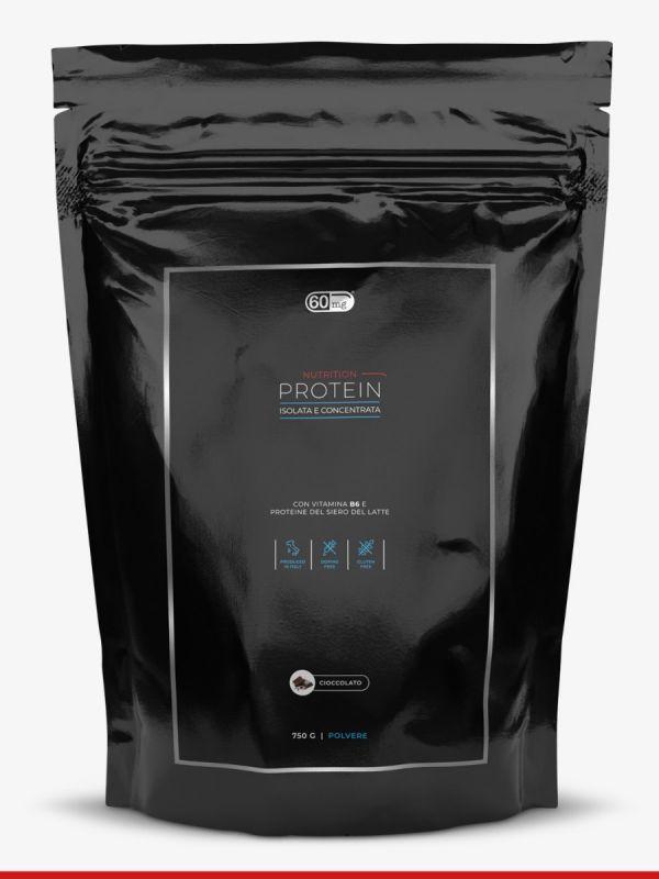 Protein 750 g isolata e concentrata